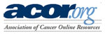 logo of Association of Cancer Online Resources (ACOR)